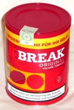 BREAK Volumen Tabak